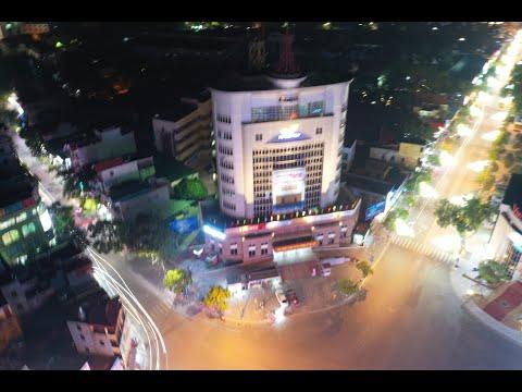 Trung tâm thành phố Hải Dương nhìn từ trên cao