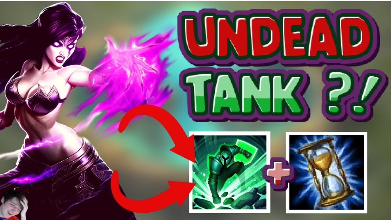 Korean Tank Undead Morgana Build Unkillable Tanky Nightmare