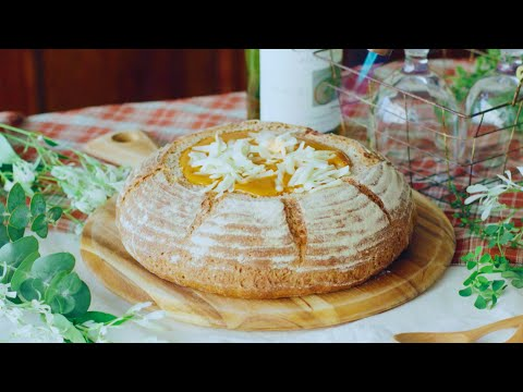 ASMR Crab Bisque Stuffed Bread by Tastemade Japan