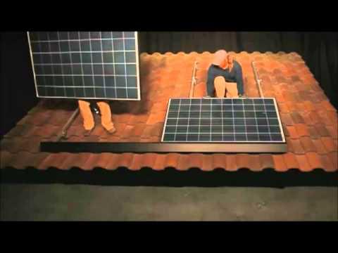 Zep Solar ZS Tile Installation video | RENVU.com