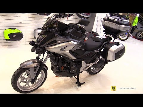 2017 Honda NC750X Givi Accessorized - Walkaround - 2017 EICMA