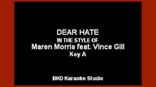 maren-morris---dear-hate-ft-vince-gill-karaoke-version