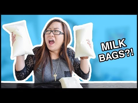 Using A Milk Bag For The First Time!
