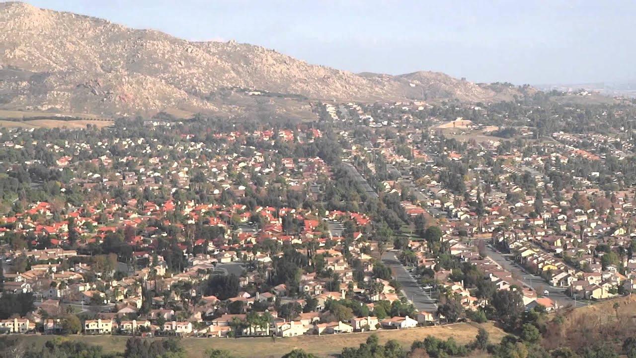 Moreno Valley  >> Moreno Valley California Birds Eye View From M Mountain Youtube