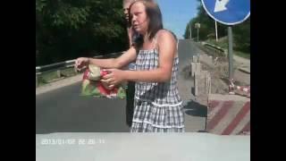 20160705 - Появилось видео, на котором слышна авария, в которой сгорели два автомобиля