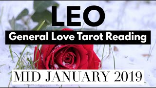 leo there is so much chemistry between you love tarot reading mid to end of january 2019