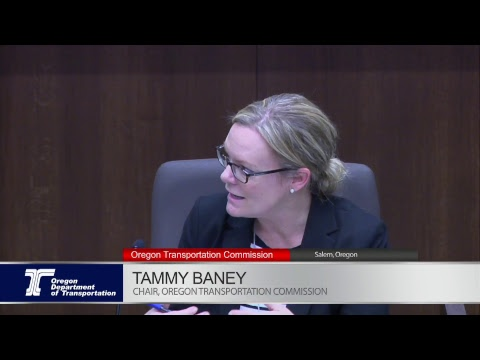 Oregon Transportation Commission Meeting 12-15-2017