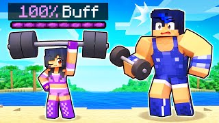 Aphmau Got 100% BUFF In Minecraft!