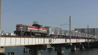 【貨物】東武鉄道70090系『THライナー』第4編成が甲種輸送される