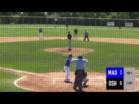 Madison Impact Vs Oshkosh - 2017 Wisconsin Legion Baseball Class AAA State Tournament