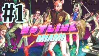 Hotline Miami Walkthrough Part 1 - Extremely Hard Game - PC 1080p IFreeMz