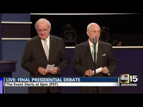 WATCH FULL Donald Trump vs. Hillary Clinton Final Presidential Debate 2016 - Las Vegas, NV