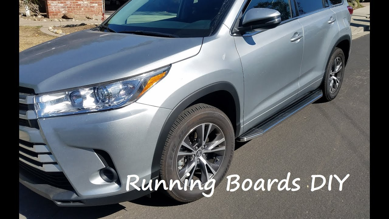 Download 2020 Toyota Highlander Running Boards