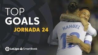 Todos los goles de la Jornada 24 de LaLiga SmartBank 2019/2020