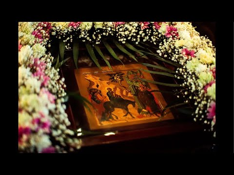 Божественная Литургия в Вербное воскресенье. Праздник Входа Господня в Иерусалим