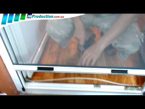 Роллетная москитная сетка на окна от JB Production