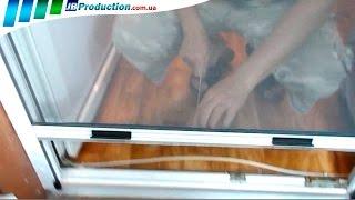 Роллетная москитная сетка на окна от JB Production(В этом видео Роллетная москитная сетка на пластиковые окна показана, как очень практичная в эксплуатации..., 2014-07-26T21:25:24.000Z)