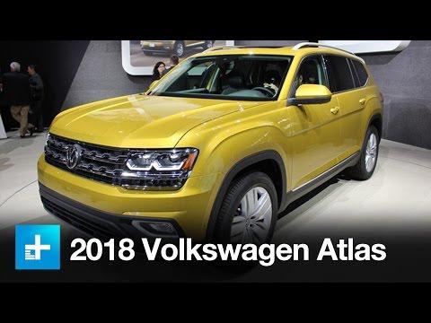 2018 Volkswagen Atlas - First Look