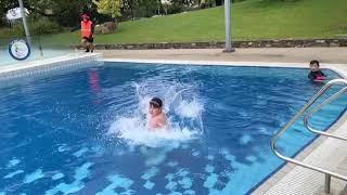 호주 태즈매니아주 론세스톤 수영장