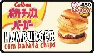 sorvete day hamburger com batata chips na folga 50