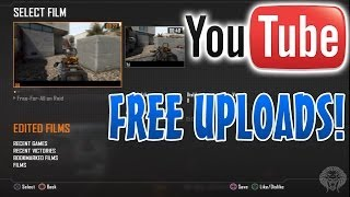 How To Upload Black Ops 2 Theater HD Gameplay to YouTube FREE Without Capture Card! (Xbox 360/PS3)