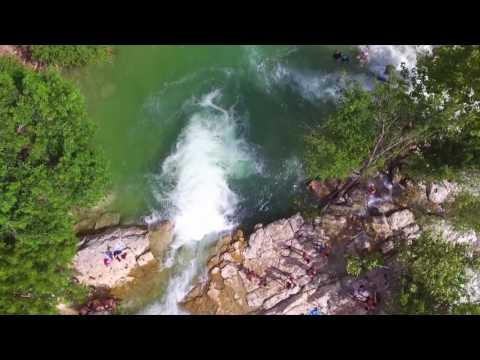 Twin Falls - Barton Creek Greenbelt - Austin, Texas