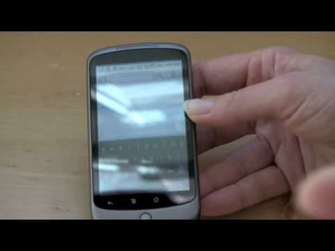 Google Nexus One Video Review Part Two