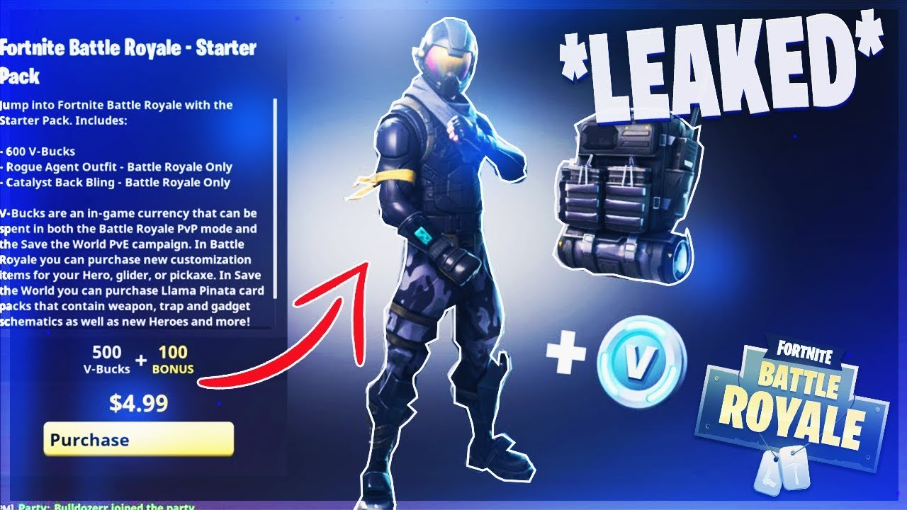 "*NEW* LEAKED FORTNITE ""STARTER PACK + 100 V-BUCKS"" - BUY ..."