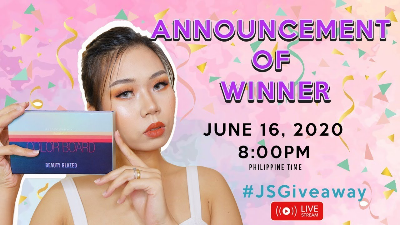 ANNOUNCEMENT OF WINNERS
