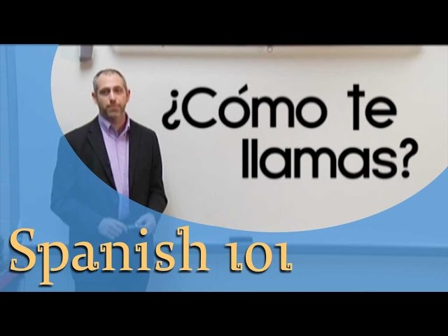 Spanish For Beginners | Spanish 101 (Ep.1)