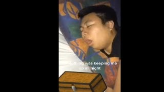 Man Loud Snores Sound Like Opening A Box