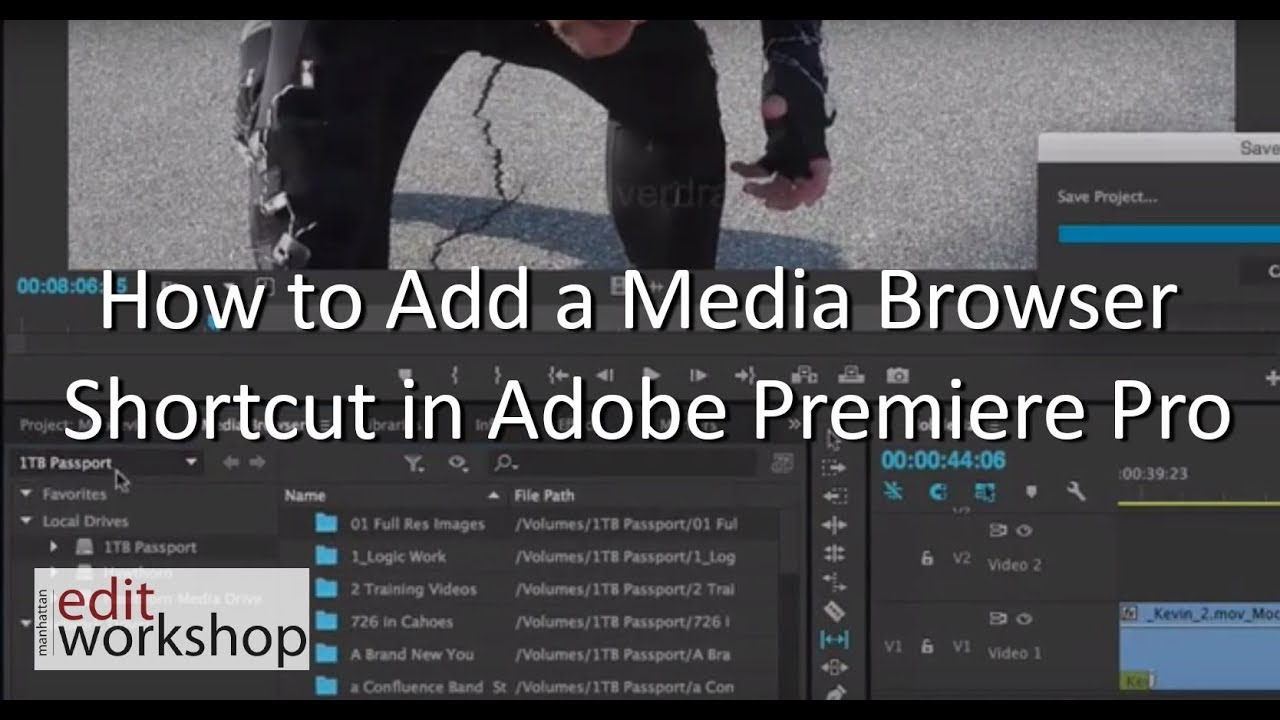 Premiere Pro Masterclass Series: Save time with favorites