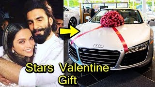 Very Expensive Valentine Gift Of Bollywood Stars 2018   Shocking