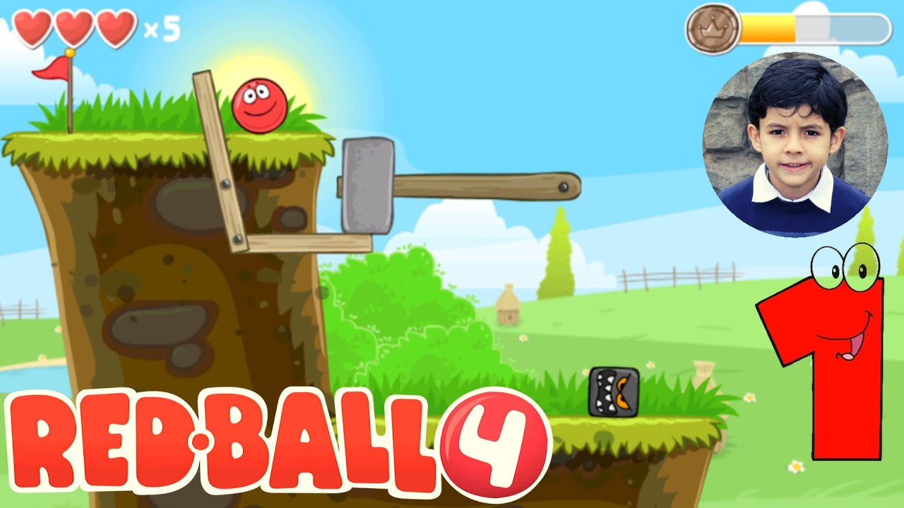 Red Ball 4 Gameplay Walkthrough Green Hills