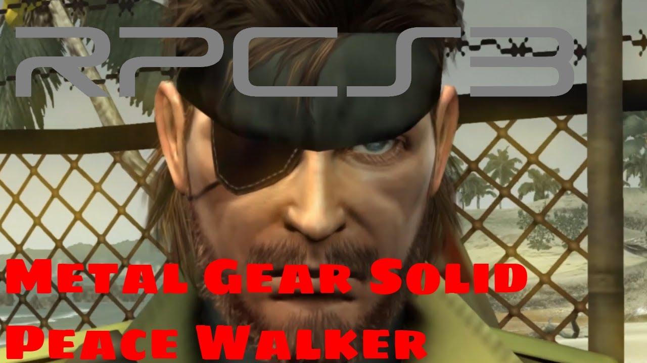 PS3 Emulator] RPCS3 | Metal Gear Soild Peace Walker