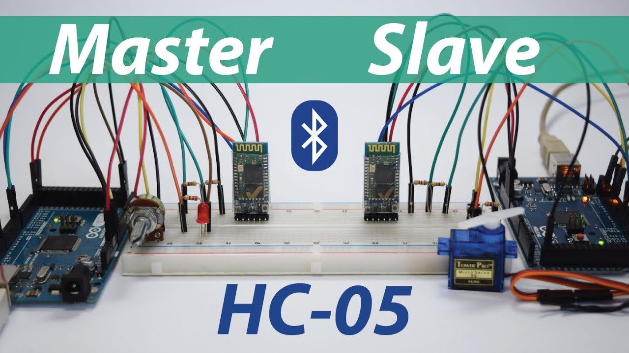 How To Configure and Pair Two HC-05 Bluetooth Module as Master and Slave |  AT Commands
