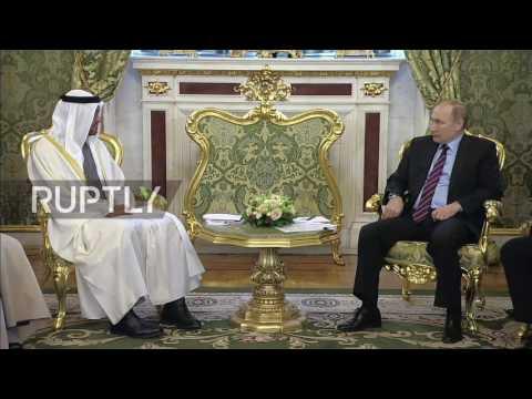 Russia: Putin talks trade, terrorism and ME with Crown Prince of Abu Dhabi