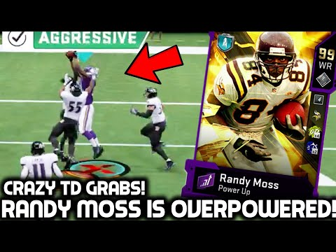 RANDY MOSS IS A HUMAN CHEAT CODE! MOSSING DEFENDERS! Madden 20 Ultimate Team