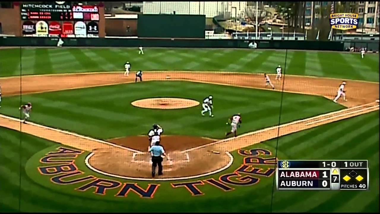 03/30/2013 Alabama vs Auburn Baseball Highlights - YouTube