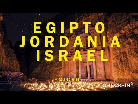 ¡EGIPTO, JORDANIA, ISRAEL! - CHECKIN-TV