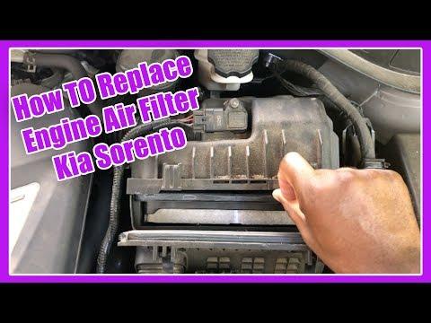 How To Replace Air Filter On Kia Sorento