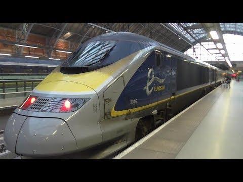Eurostar Class 373 TGV TMST (e300) Ride: London St Pancras International to Lille Europe - 06/09/17