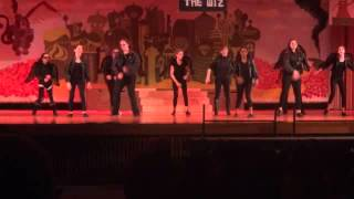 "Elwood Middle School Musical - ""The Wiz"" - Flying Monkey scene"