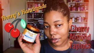 Is This Honey's Handmade Co-Wash A Win? | Cherry Almond Tapioca Co-Wash Review!