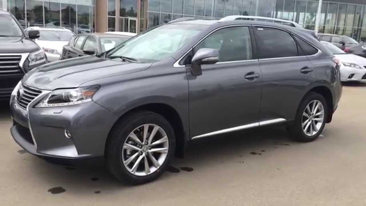 2015 lexus rx 350 awd sportdesign edition review in gray northside edmonton youtube. Black Bedroom Furniture Sets. Home Design Ideas