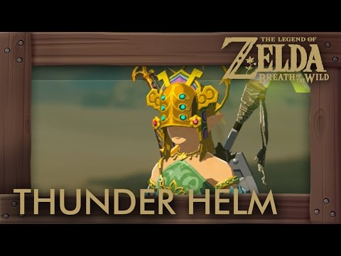 Zelda Breath of the Wild - How to Get Thunder Helm