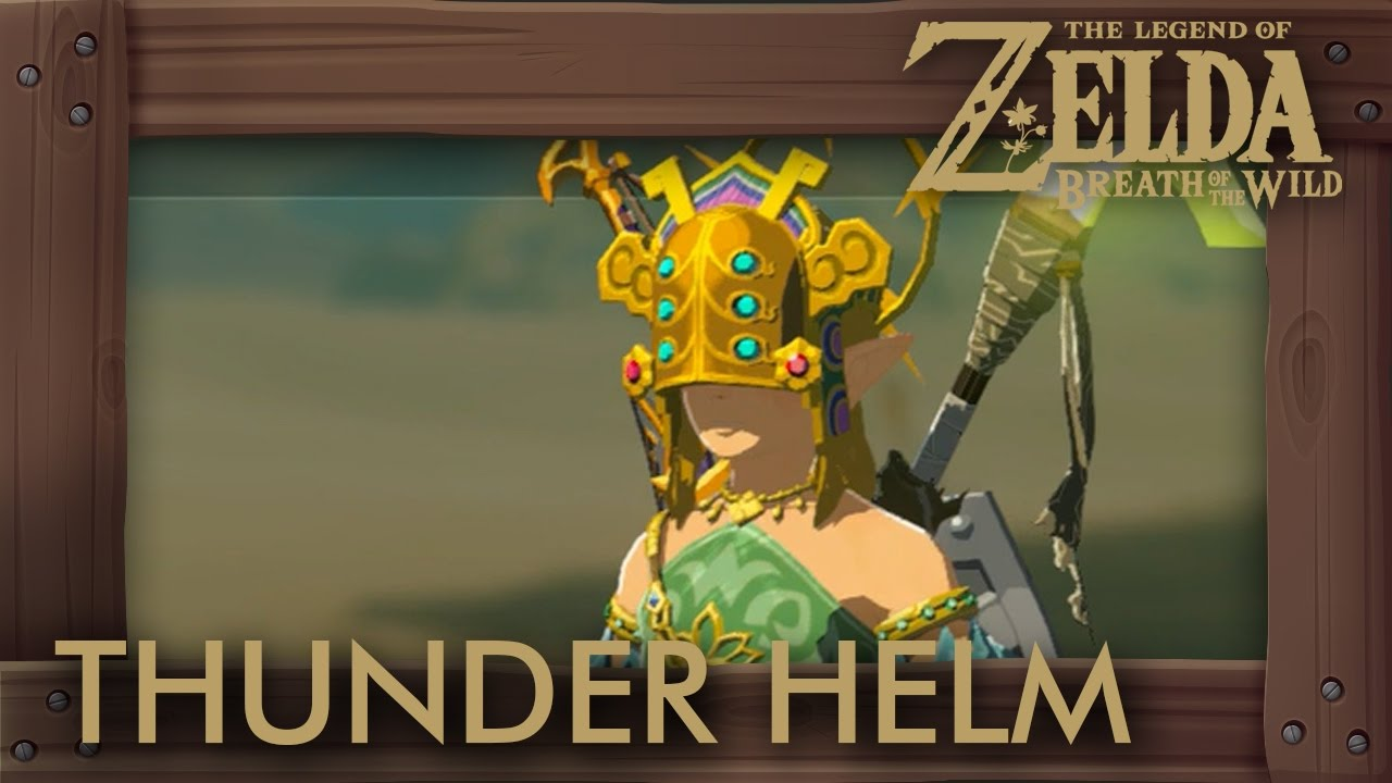 Zelda Breath Of The Wild How To Get Thunder Helm Youtube