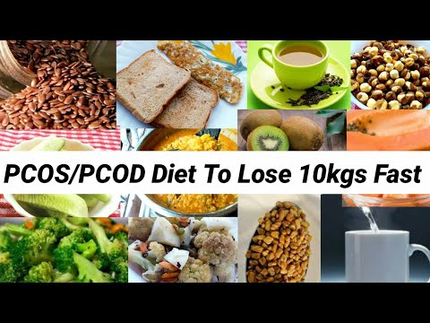 PCOS/PCOD Diet Plan | How To Lose 10Kgs Fast With PCOD | Indian Meal Plan To Lose Weight Fast