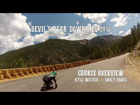 Devil's Peak Downhill 2018 Course Overview