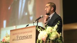 ustadh nouman ali khan last impressions   iok extension conference 2014